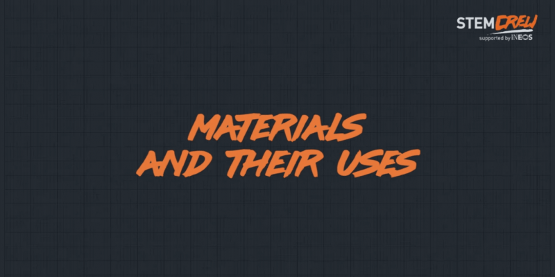 Materials and their uses educational course for schools