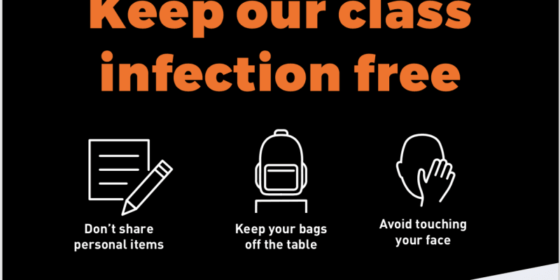 keep our classroom infection free