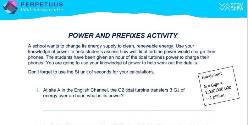 Power & Prefixes Activity thumbnail